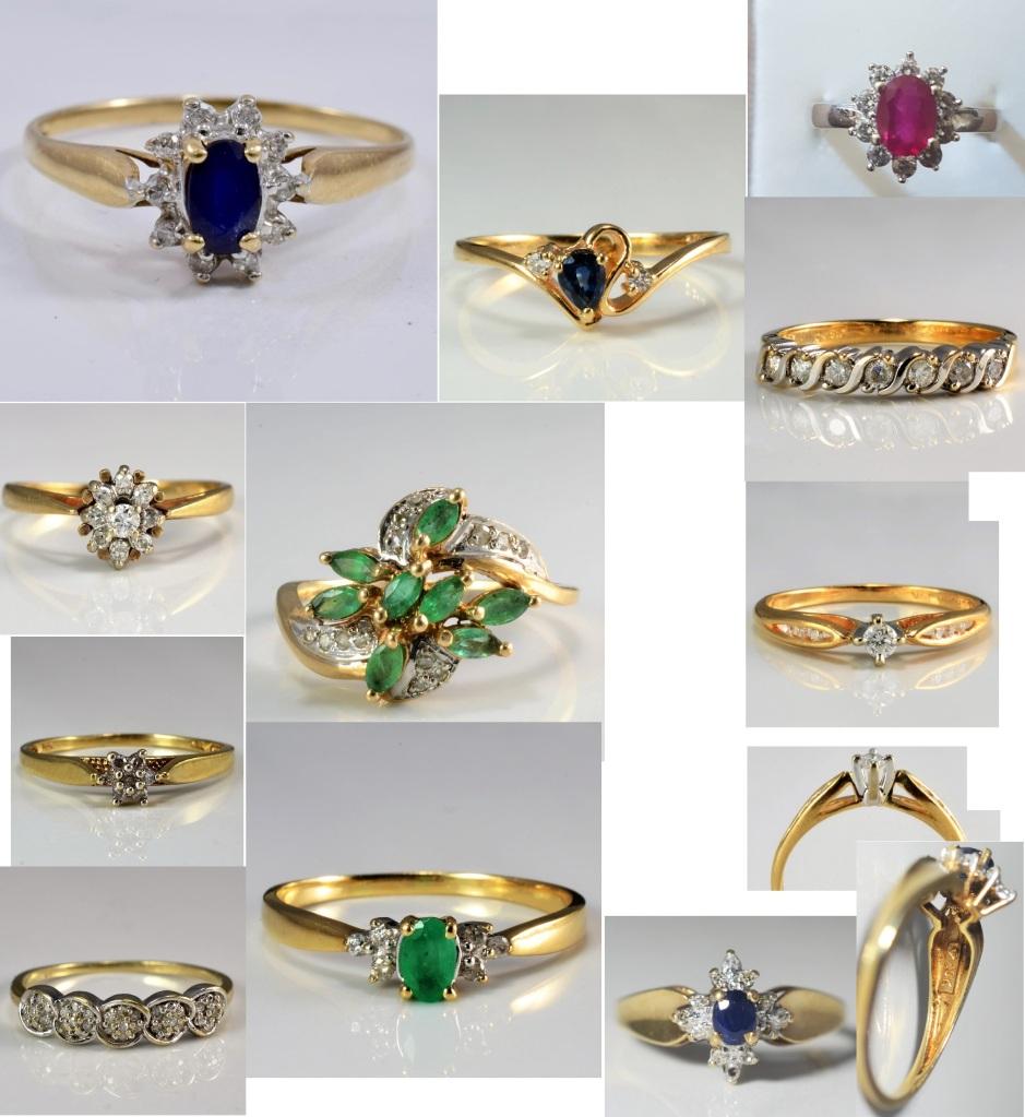 Estate sale, pre-owned jewellery, cheap jewellery for sale, online buy jewellery, used jewellery, buy rings, real gemstones, diamond rings,