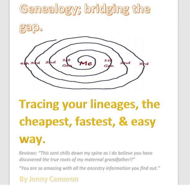 Genealogy ebook cover 2021